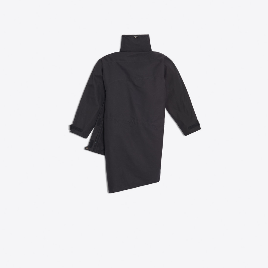 BALENCIAGA Pulled Raincoat Coats D d