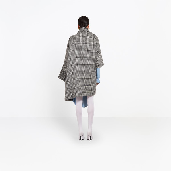 BALENCIAGA Coats Woman Pulled Opera Coat h