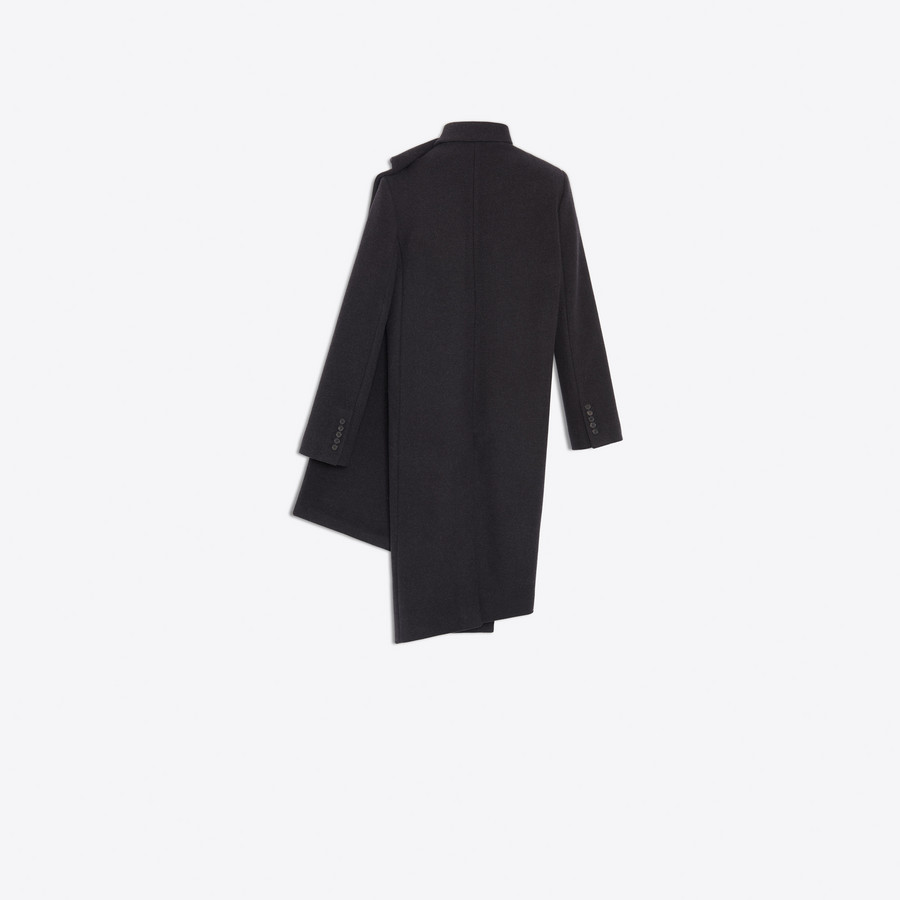 BALENCIAGA Pulled Tube Coat Coats Woman d