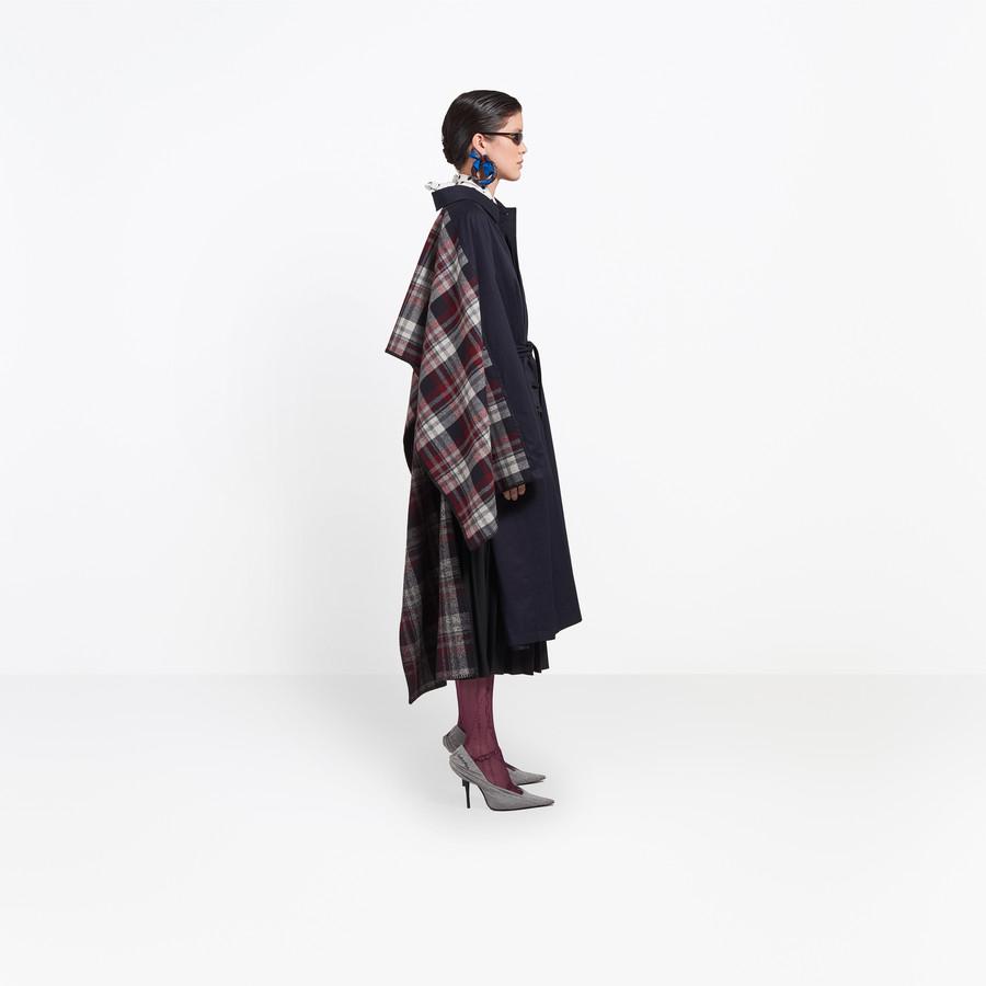 BALENCIAGA Hybrid Car Coat Coats Woman i