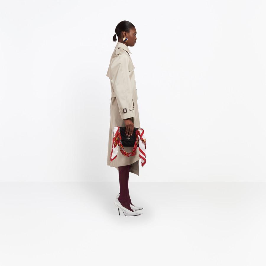 BALENCIAGA Pulled Trench Coats Woman i