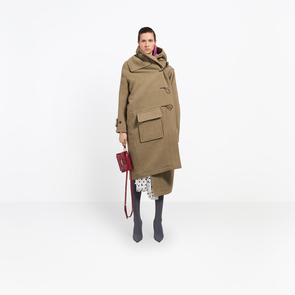 Pulled Duffle Coat
