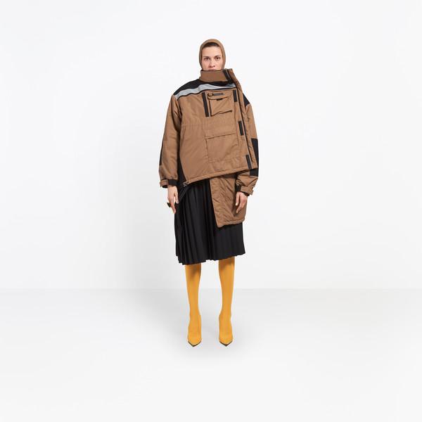 BALENCIAGA Coats D Pulled Parka g
