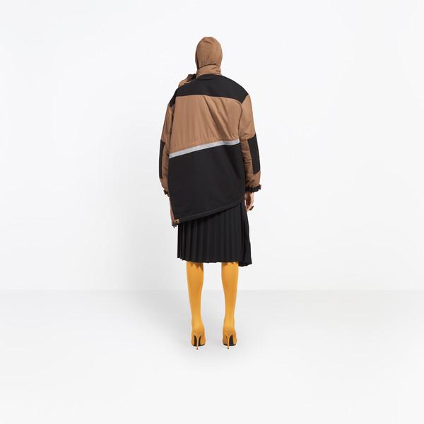 BALENCIAGA Coats D Pulled Parka h