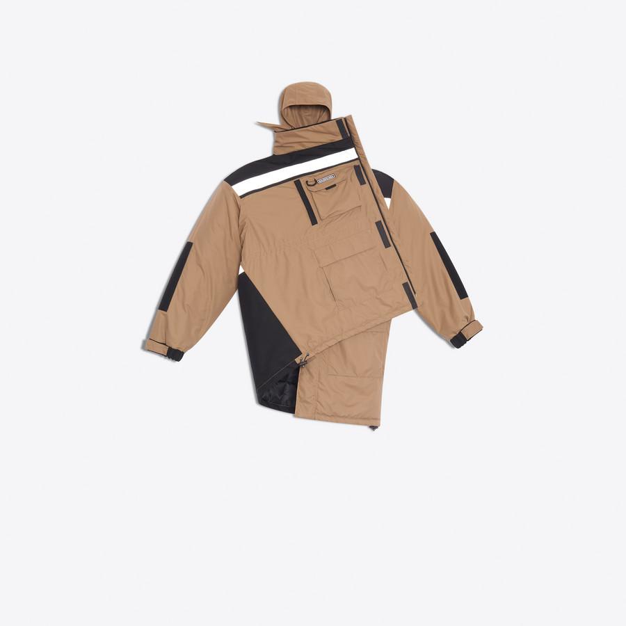 BALENCIAGA Pulled Parka Coats D f