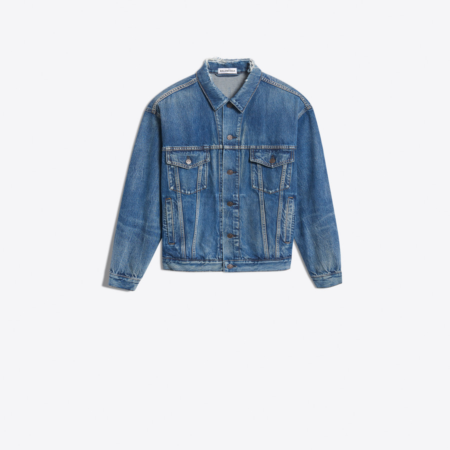 BALENCIAGA Like a Man Denim Jacket Jacket D f