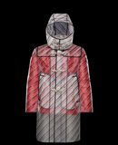 MONCLER DOWN RAINCOAT - Coats - men
