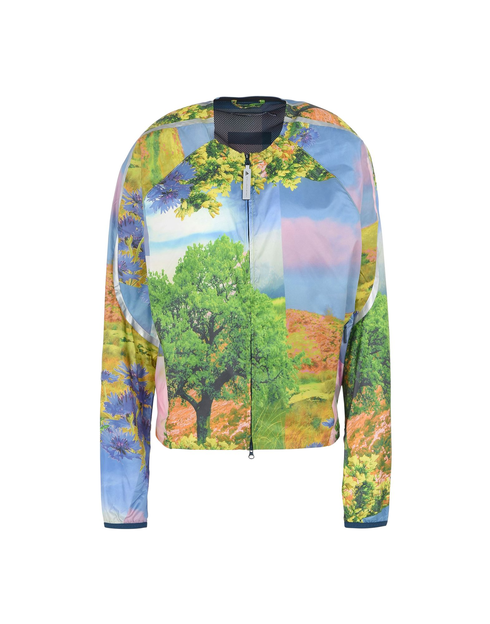 RUNNING JACKET NATURE PRINT