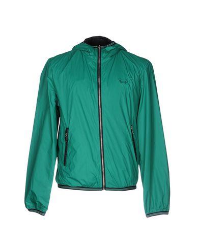 Фото - Мужскую куртку  изумрудно-зеленого цвета