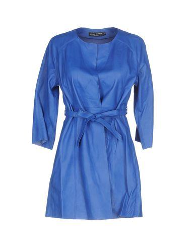 Фото - Легкое пальто от STREET LEATHERS синего цвета