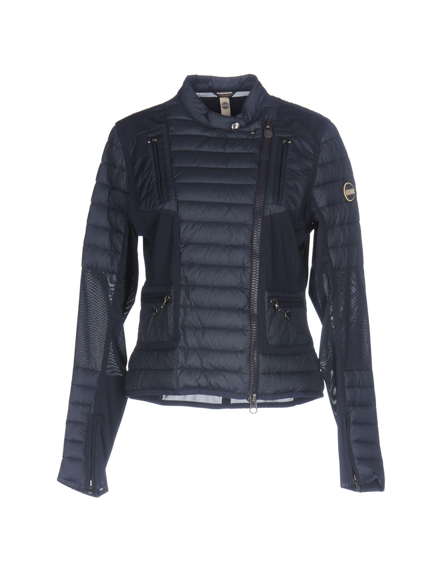 COLMAR Пуховик colmar джинсовая верхняя одежда