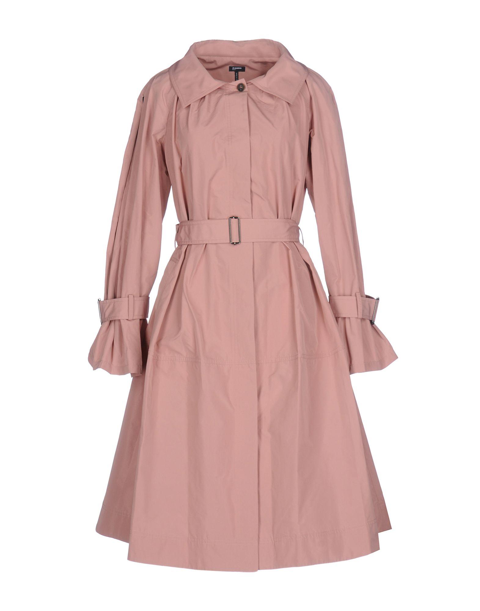 где купить  JIL SANDER NAVY Легкое пальто  по лучшей цене