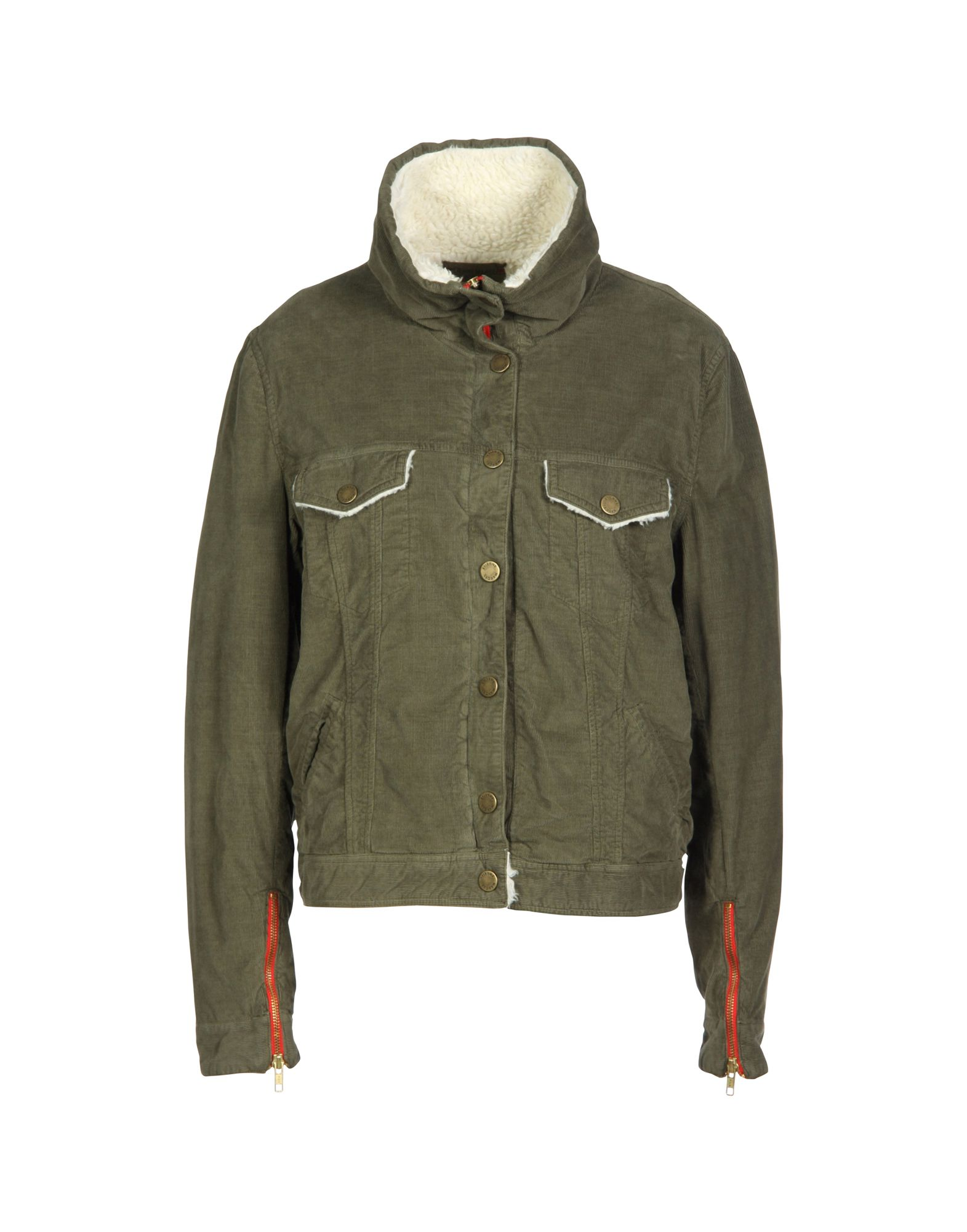 ETIENNE MARCEL Jackets in Military Green