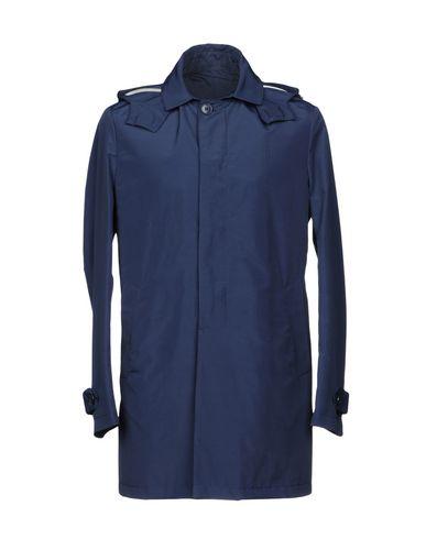 Фото - Легкое пальто от BRIAN DALES темно-синего цвета