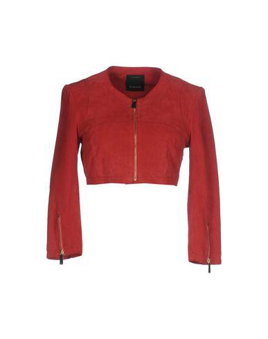 Фото - Женскую куртку  красно-коричневого цвета