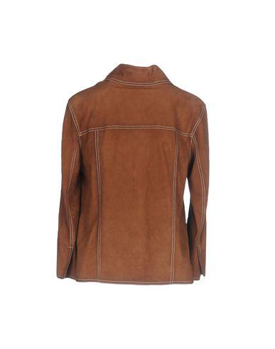 Фото 2 - Женскую куртку TWINSET коричневого цвета