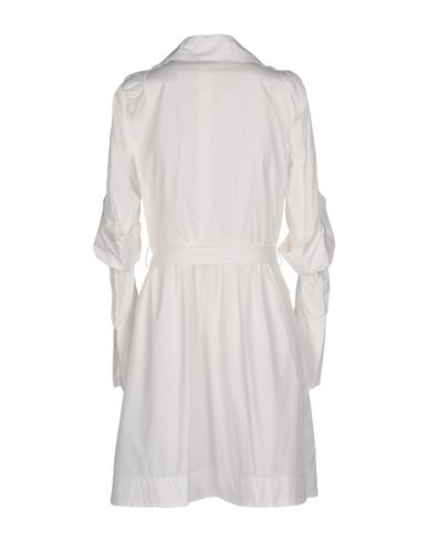 Фото 2 - Легкое пальто от ERMANNO DI ERMANNO SCERVINO белого цвета