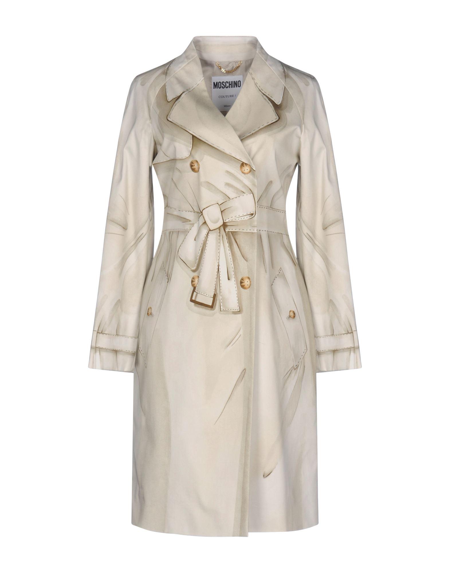 MOSCHINO COUTURE Легкое пальто moschino couture сандалии