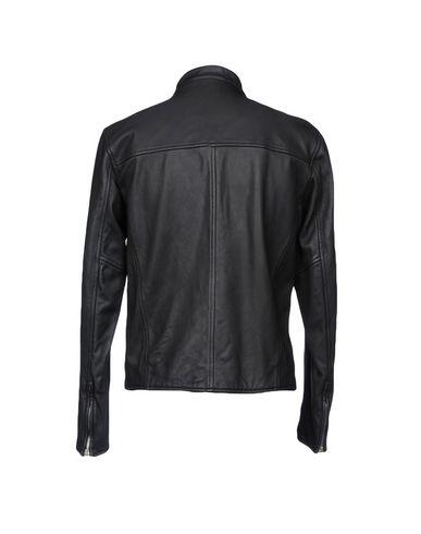 Фото 2 - Мужскую куртку STEWART черного цвета