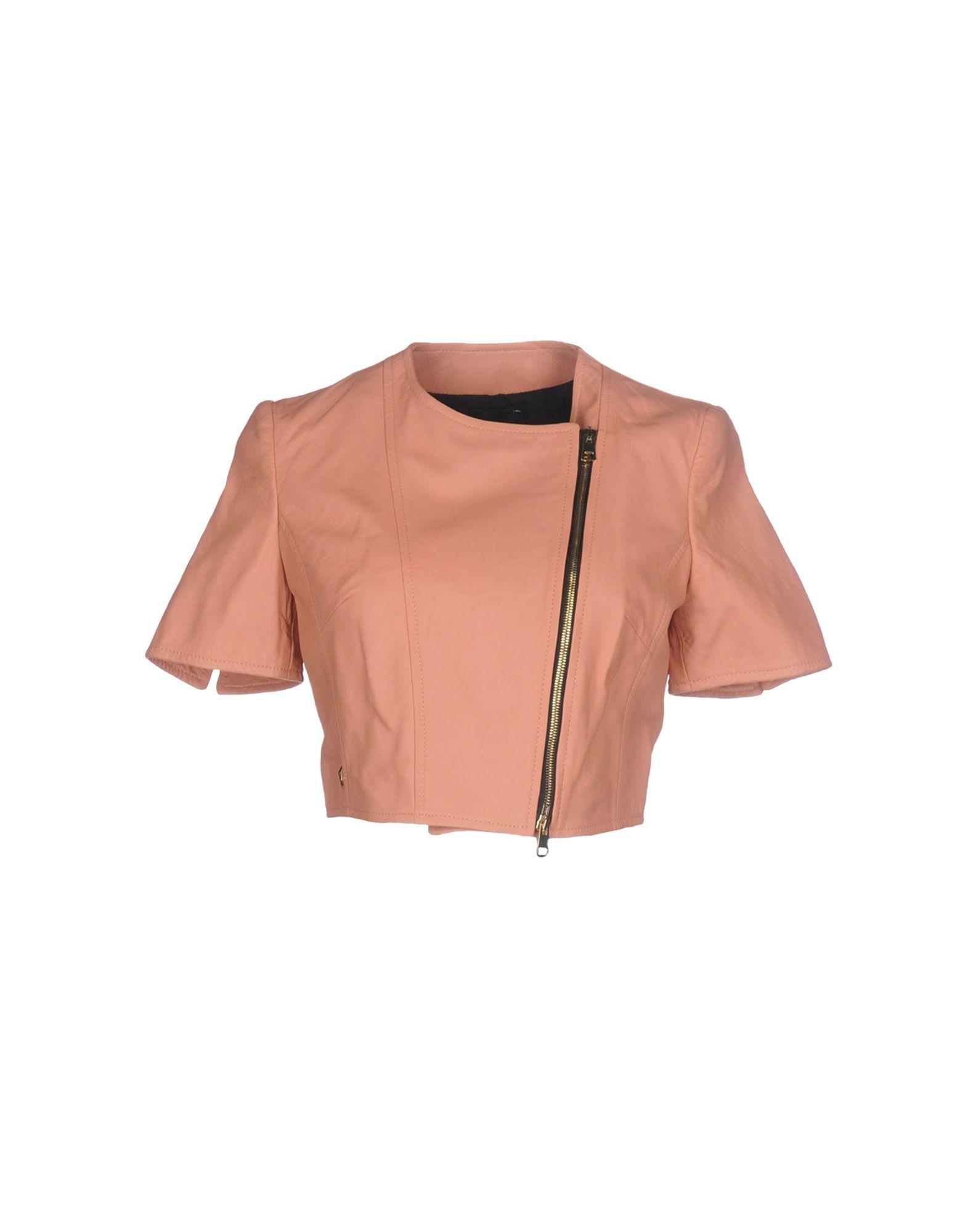 ATOS LOMBARDINI Biker Jacket in Pink