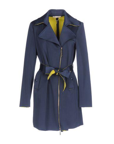 Фото - Легкое пальто грифельно-синего цвета
