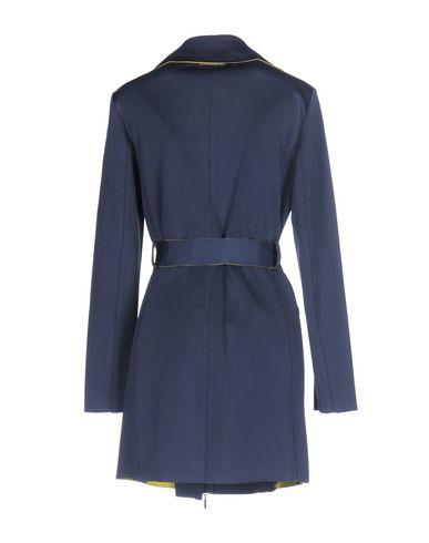 Фото 2 - Легкое пальто грифельно-синего цвета