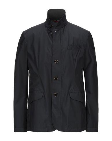 Фото - Легкое пальто от FAY темно-синего цвета