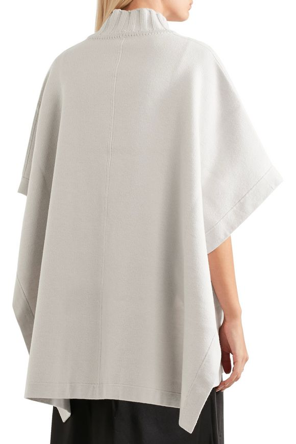 13c319037ce Palomina reversible wool-blend poncho | THEORY | Sale up to 70% off ...