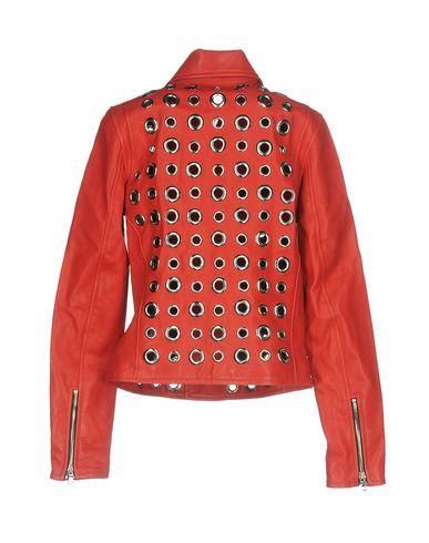 Фото 2 - Женскую куртку RTA красного цвета