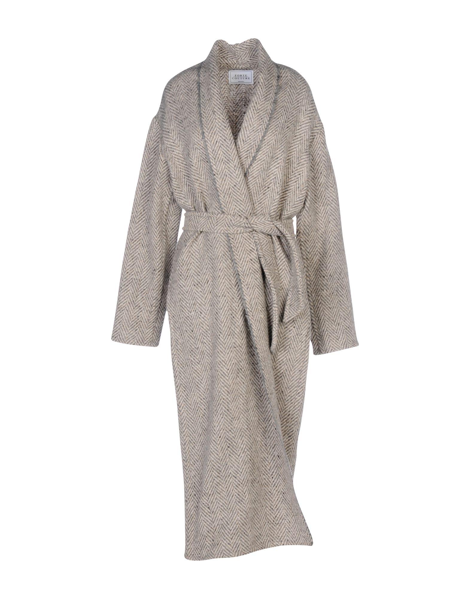 FORTE COUTURE Пальто forte forte пиджак