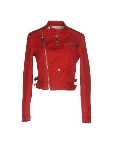 Купить Женскую куртку  красного цвета