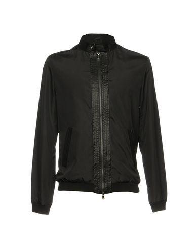 Купить Мужскую куртку DANIELE ALESSANDRINI HOMME черного цвета