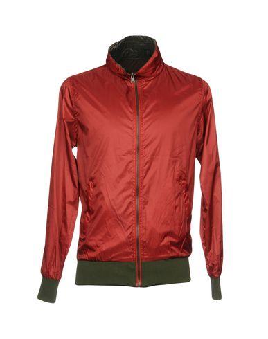 Фото - Мужскую куртку DANIELE ALESSANDRINI HOMME красно-коричневого цвета