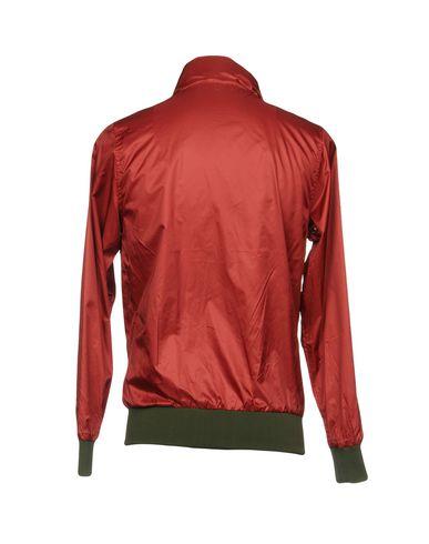 Фото 2 - Мужскую куртку DANIELE ALESSANDRINI HOMME красно-коричневого цвета