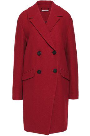 DIANE VON FURSTENBERG Finola textured-wool coat