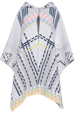 PETER PILOTTO Wool-blend hooded cape