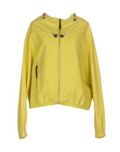 Купить Женскую куртку  кислотно-зеленого цвета