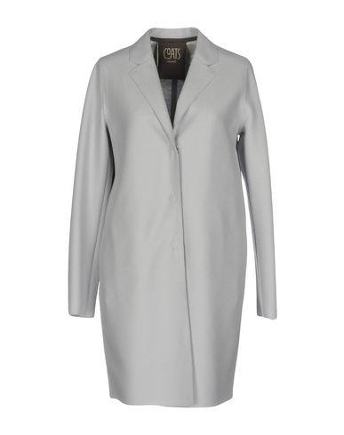 Фото - Женское пальто или плащ  светло-серого цвета
