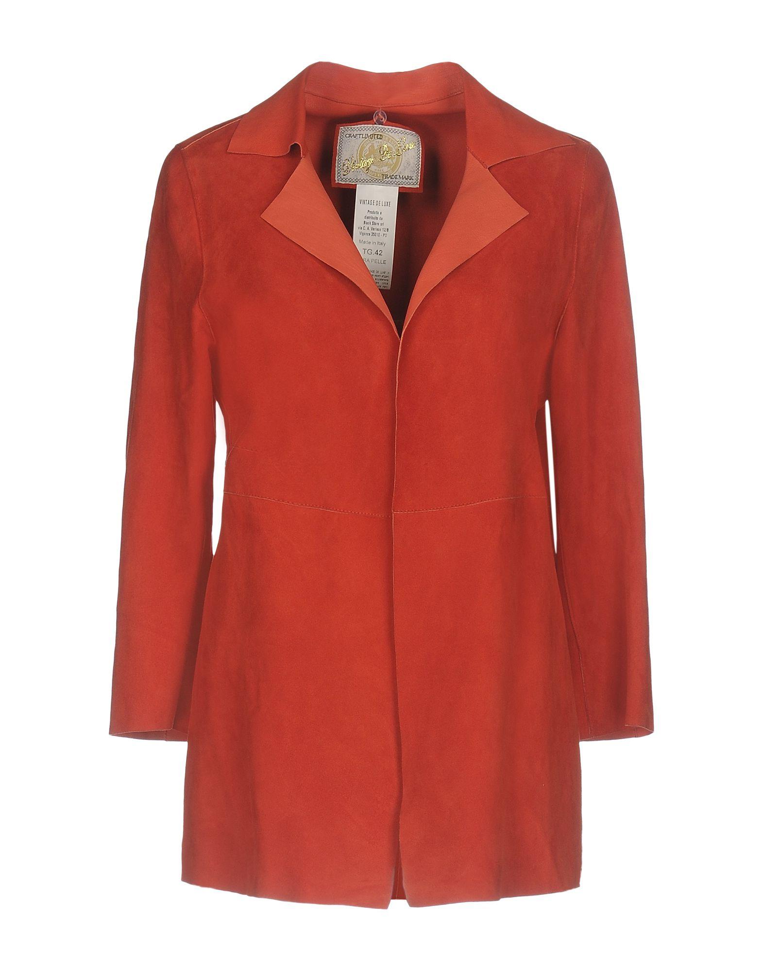 VINTAGE DE LUXE Легкое пальто пальто de salitto одежда непромокаемая