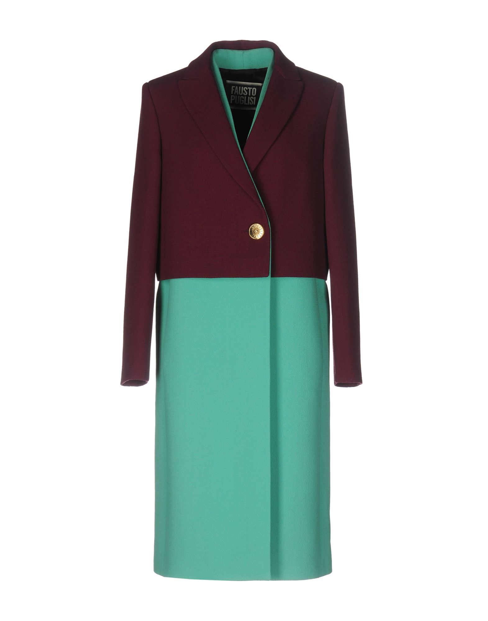 цена FAUSTO PUGLISI Легкое пальто онлайн в 2017 году