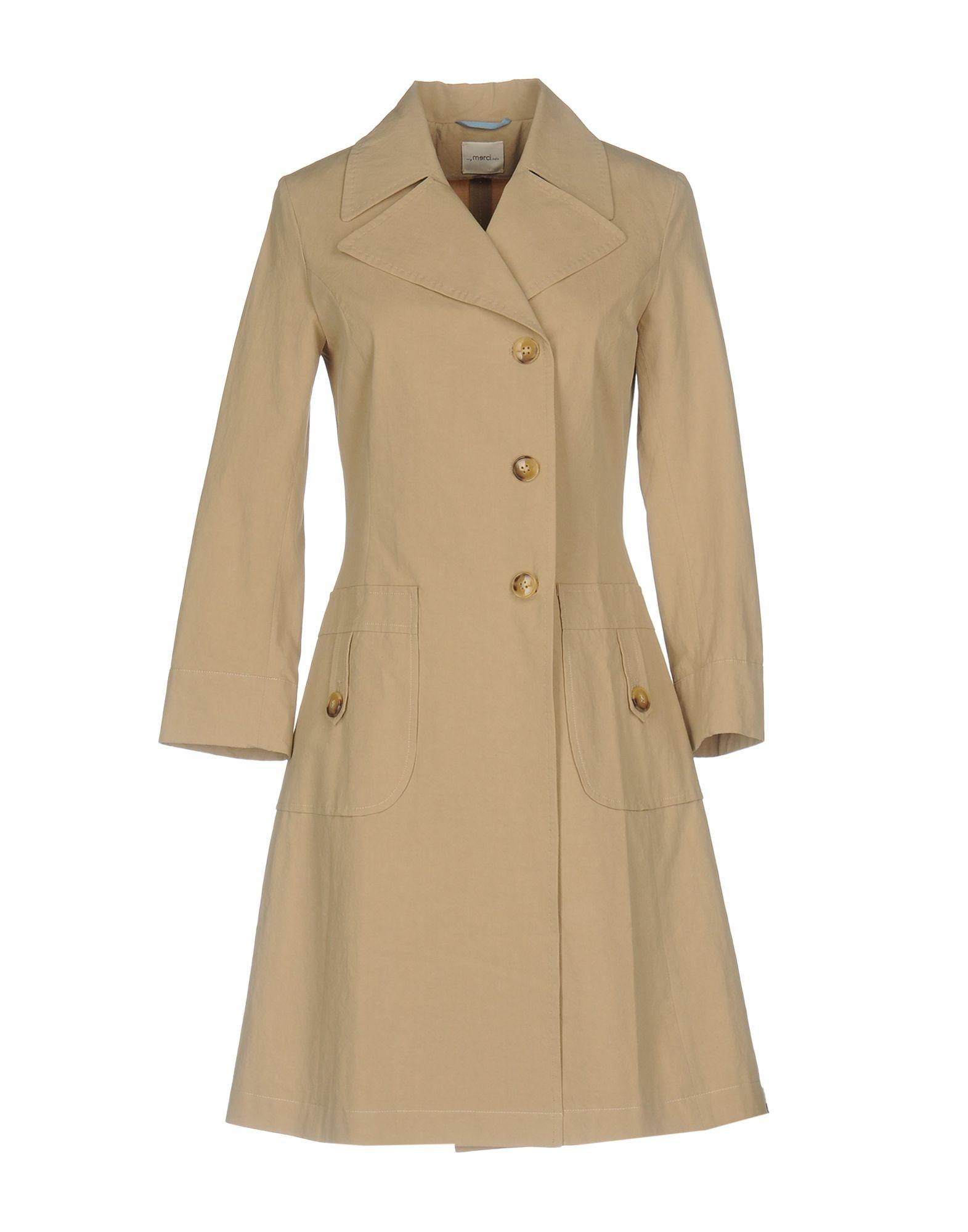 ..,MERCI Легкое пальто merci джинсовая верхняя одежда