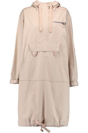 MARC BY MARC JACOBS Appliquéd cotton-blend hooded coat