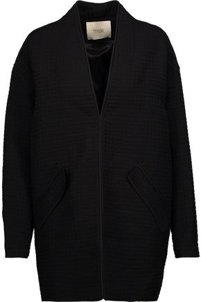 MAJE Venezia piqué jacket