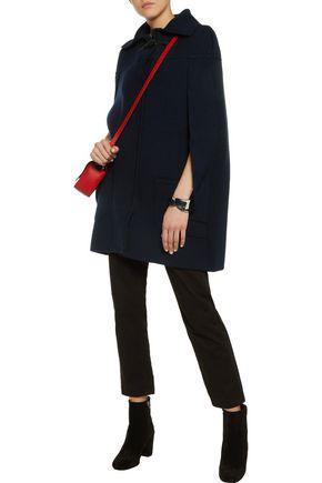MAISON MARGIELA Wool-blend cape