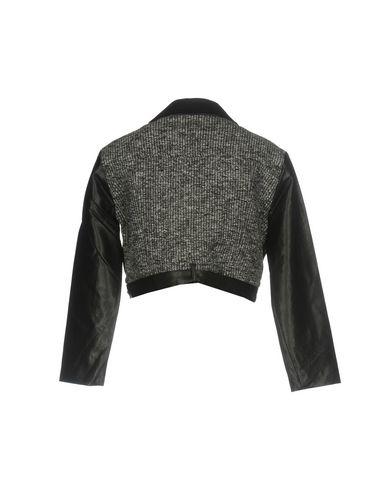 Фото 2 - Женскую куртку SH by SILVIAN HEACH серого цвета