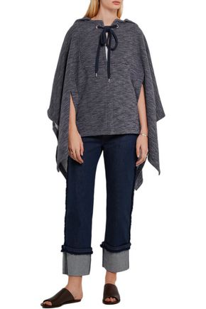 SEE BY CHLOÉ Hooded jersey cape