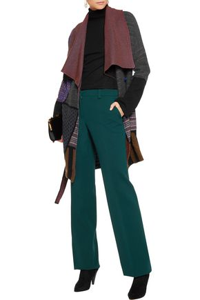 ETRO Paneled wool-blend coat