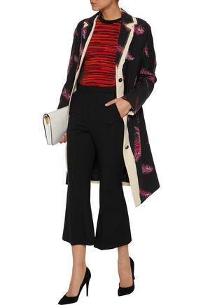 EMILIO PUCCI Printed wool-crepe coat