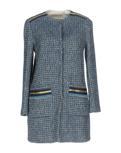 Фото - Женское пальто или плащ KAOS JEANS синего цвета