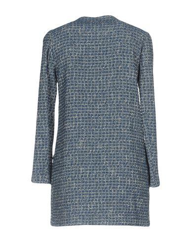 Фото 2 - Женское пальто или плащ KAOS JEANS синего цвета